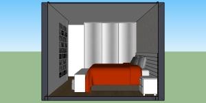 Quarto casal - armário