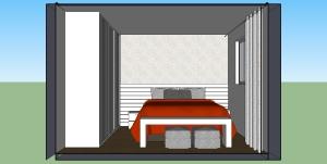 Quarto casal - cama