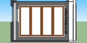 Quarto hóspedes - vista armário